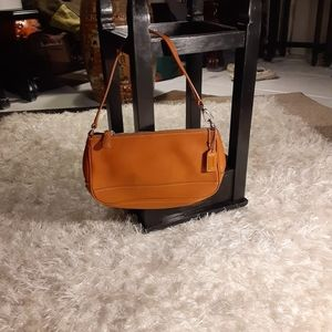 Coach tan leather small bags